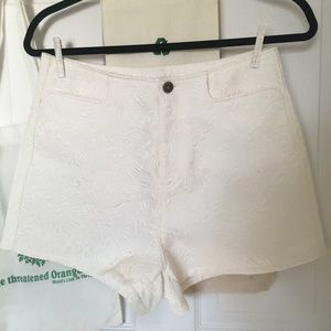 Urban Outfitters Brocade Shorts